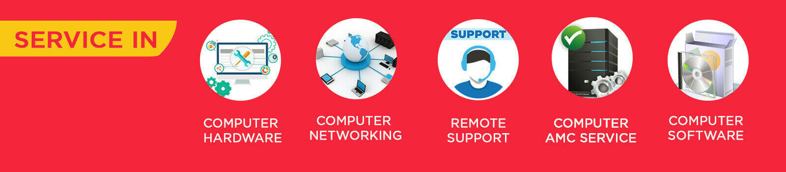 harsh enterprises, IT Support and Service List, Computer Service